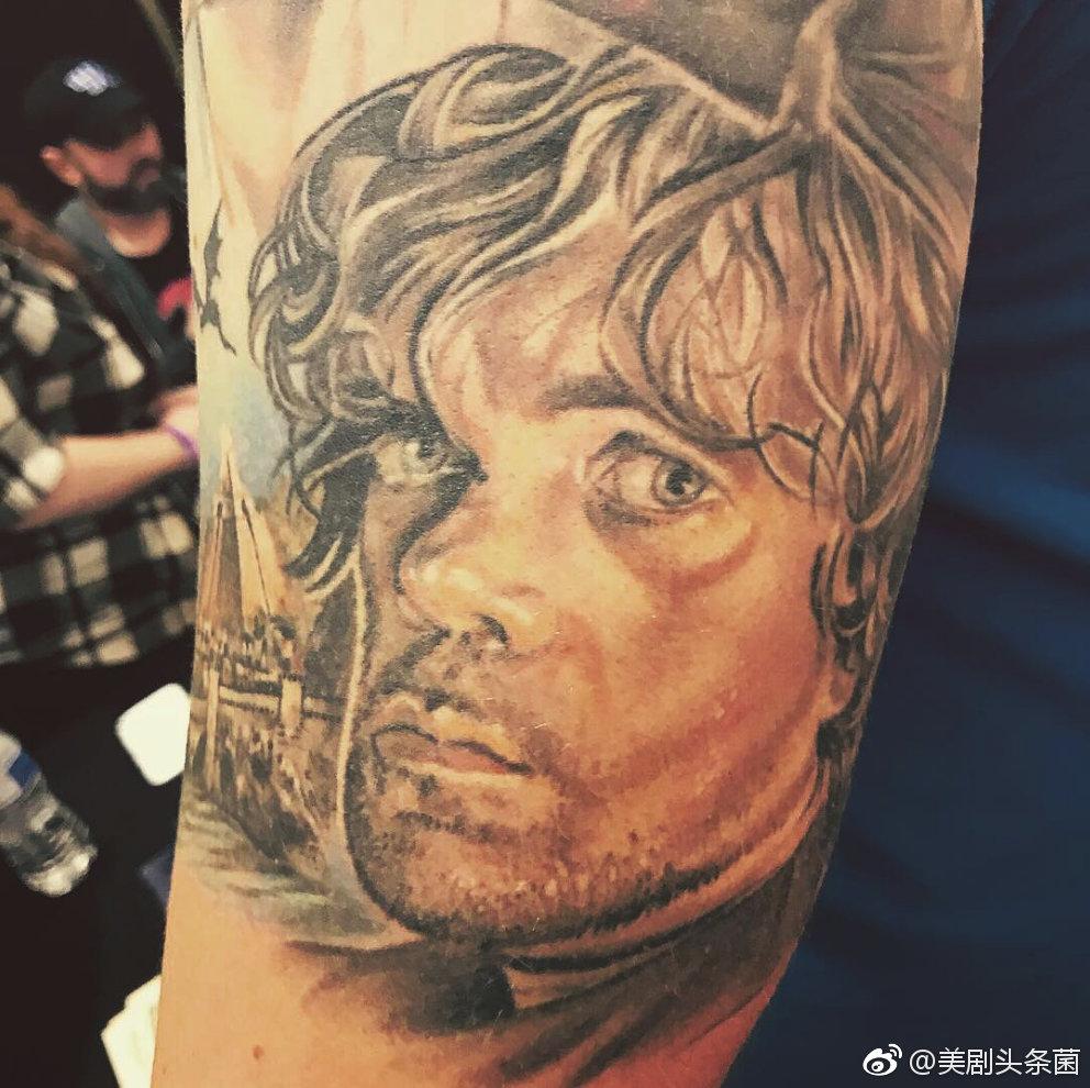 权力的游戏外网最酷权游纹身,想来一个吗 zt